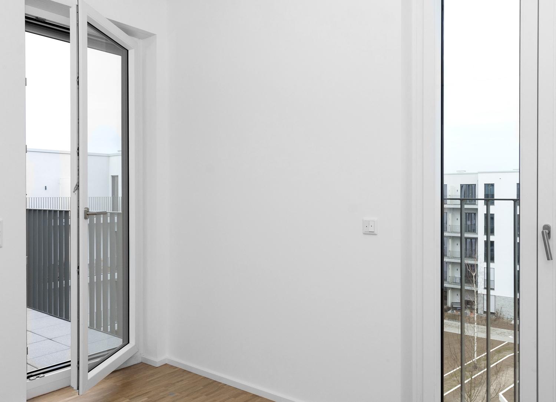 Terrassenzgang Schlafzimmer