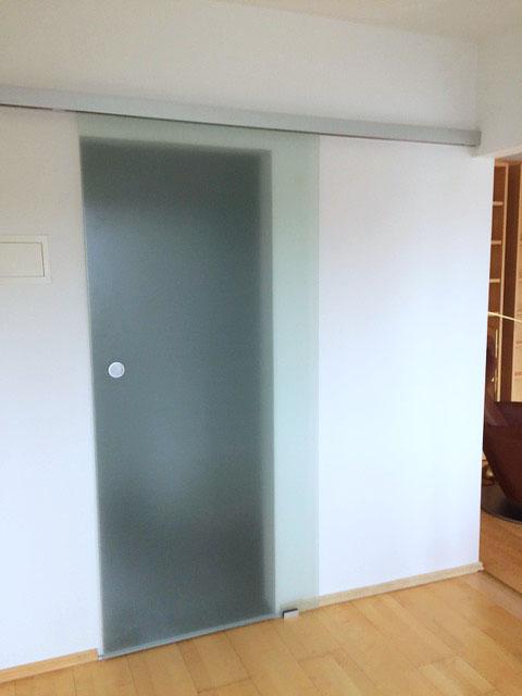 Flur Tür zum Badezimmer