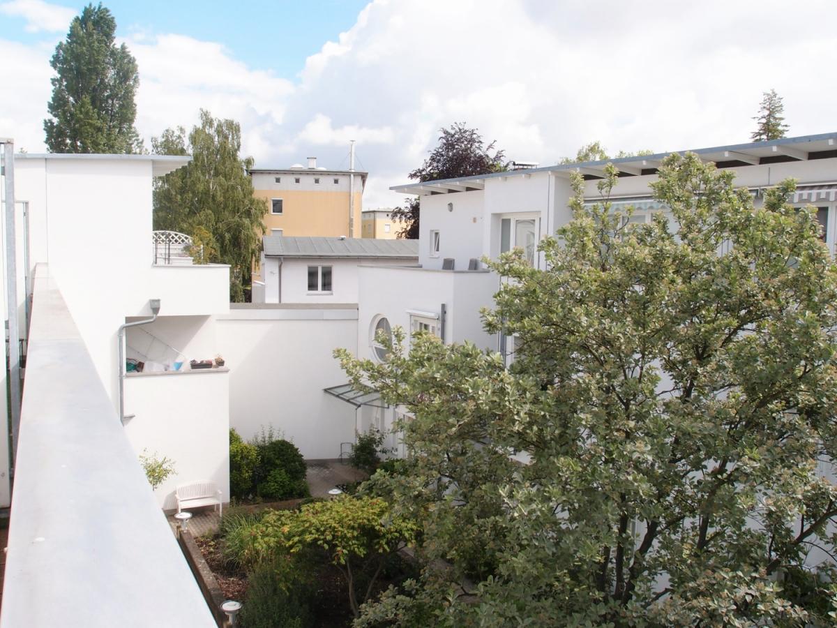 Dachterrasse Wohnzimmer zum Hof