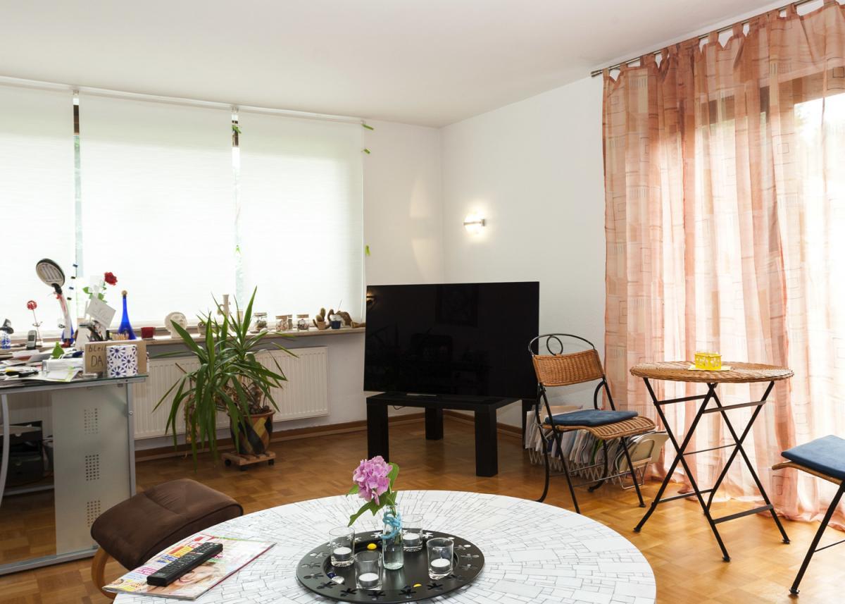 Wohnzimmer EG Ansicht 2