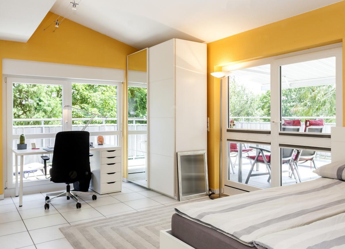 Kleines Schlafzimmer Ansicht1