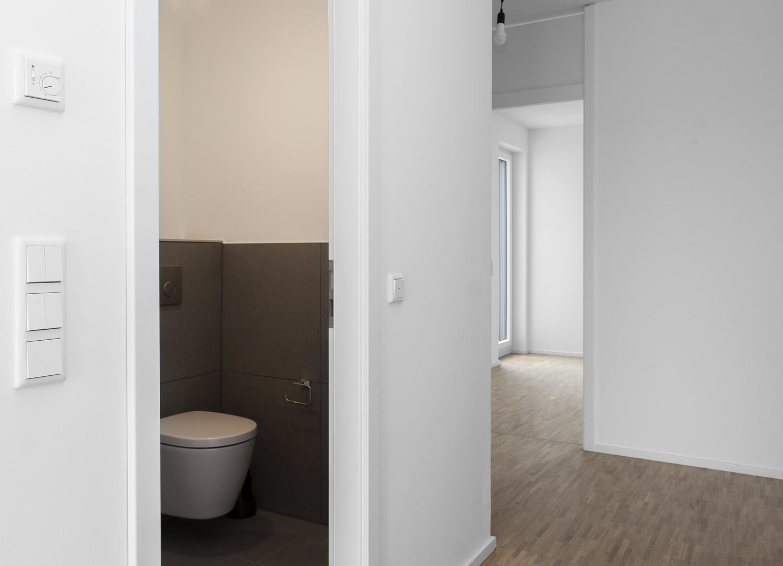 Flur mit Gäste-WC