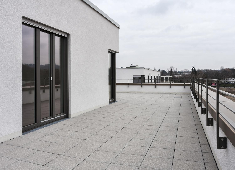 Dachterrasse Ansicht 1