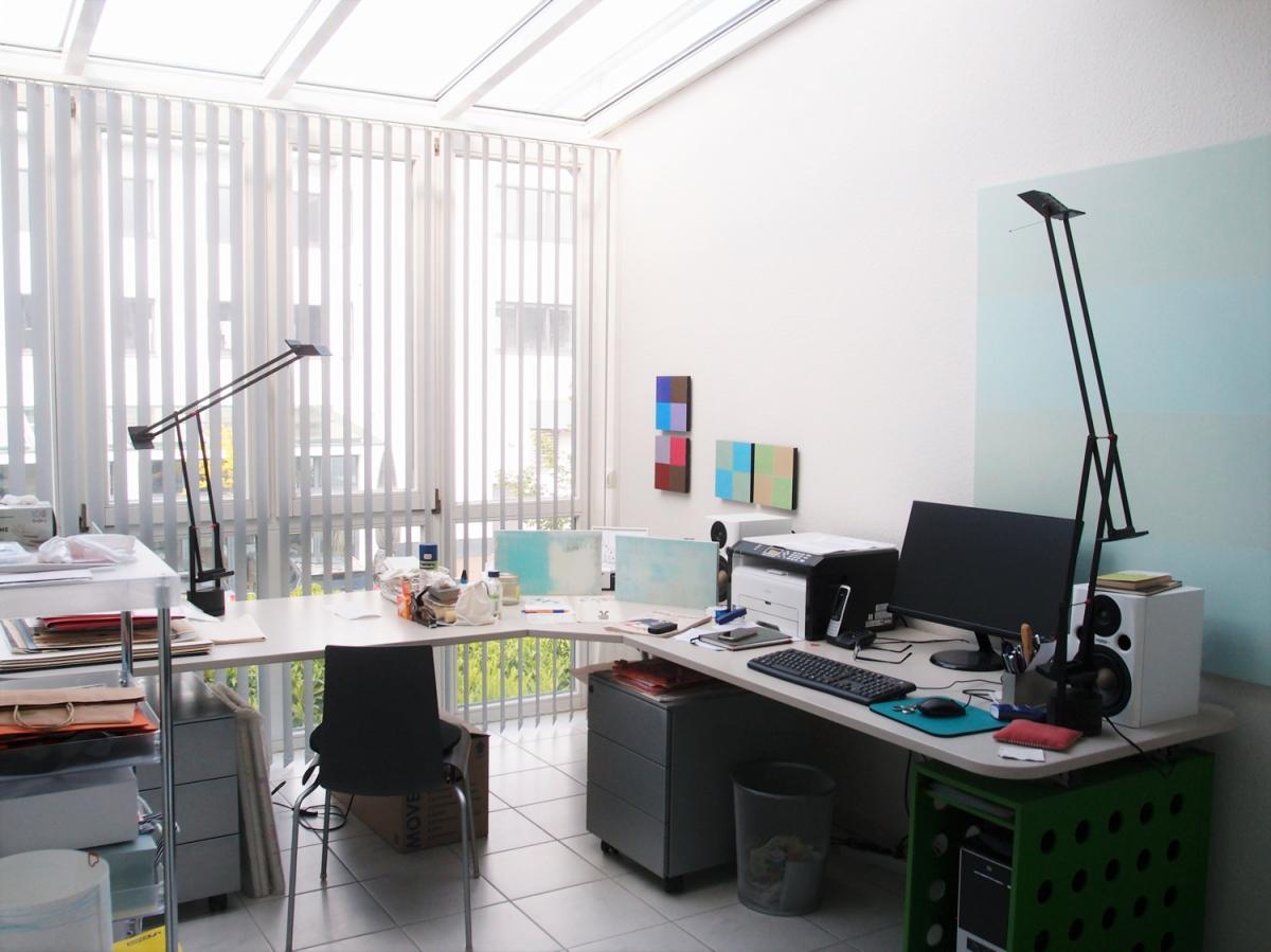 Arbeitszimmer mit Wintergarten Ansicht 1