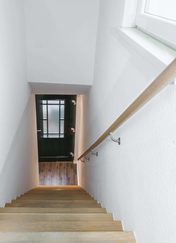 Treppenaufgang zum 1.OG