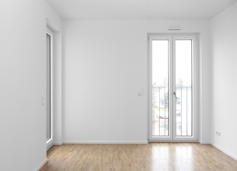 Schlafzimmer mit kl. Terrasse