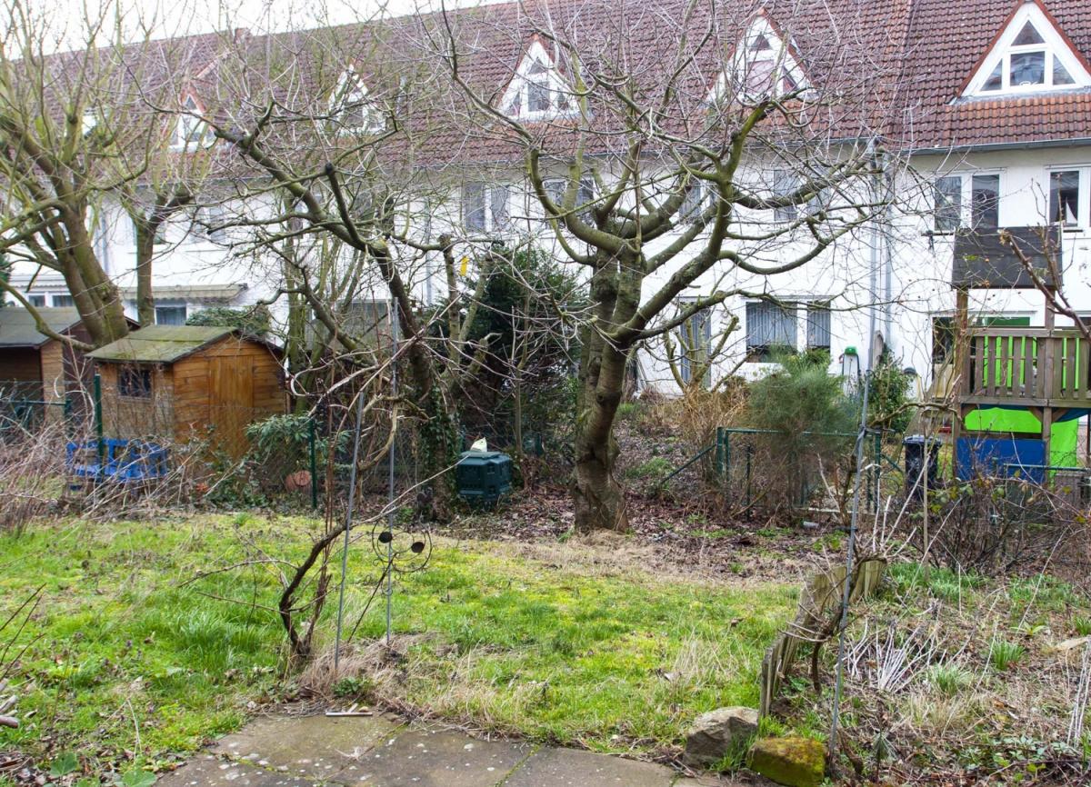 Hausansicht Garten 2