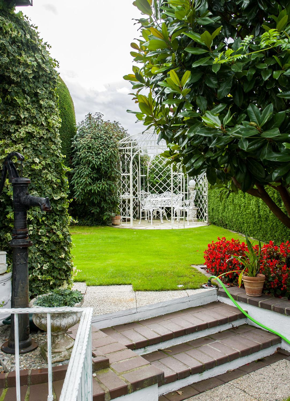 Gartenansicht Sitzplatz