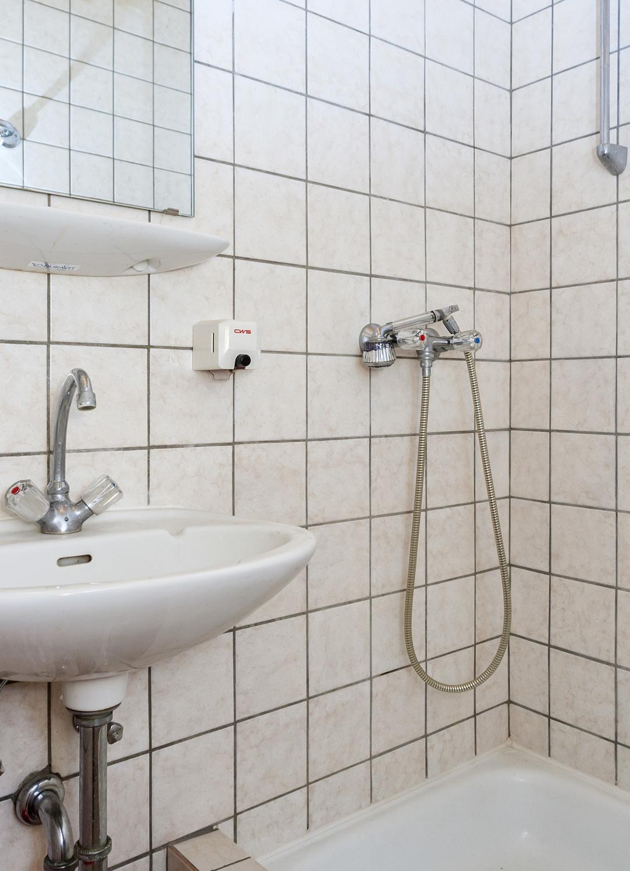 Zimmer (Anbau) Dusche Bad 1.OG