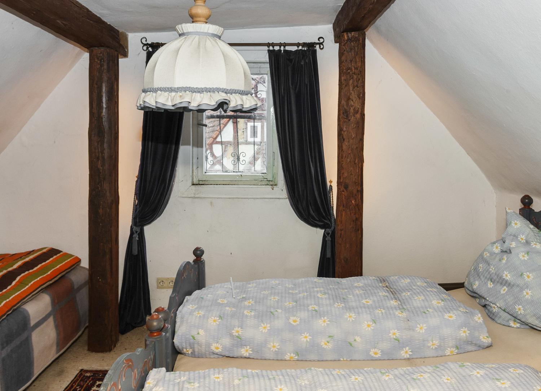Wohnung Fachwerk Schlafzimmer DG