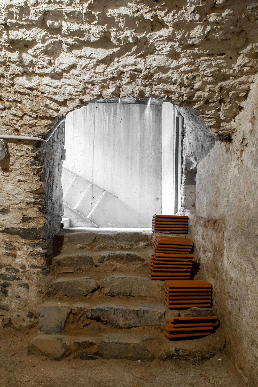 Zugang zum Gewölbekeller