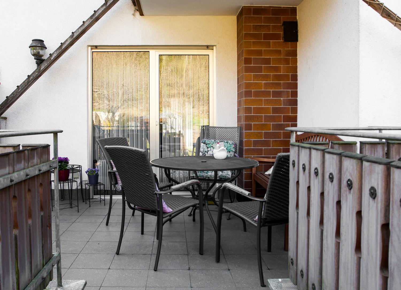 Terrasse Gartenseite EG