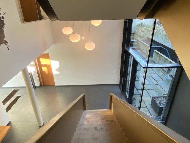 Treppenhaus mit Hof